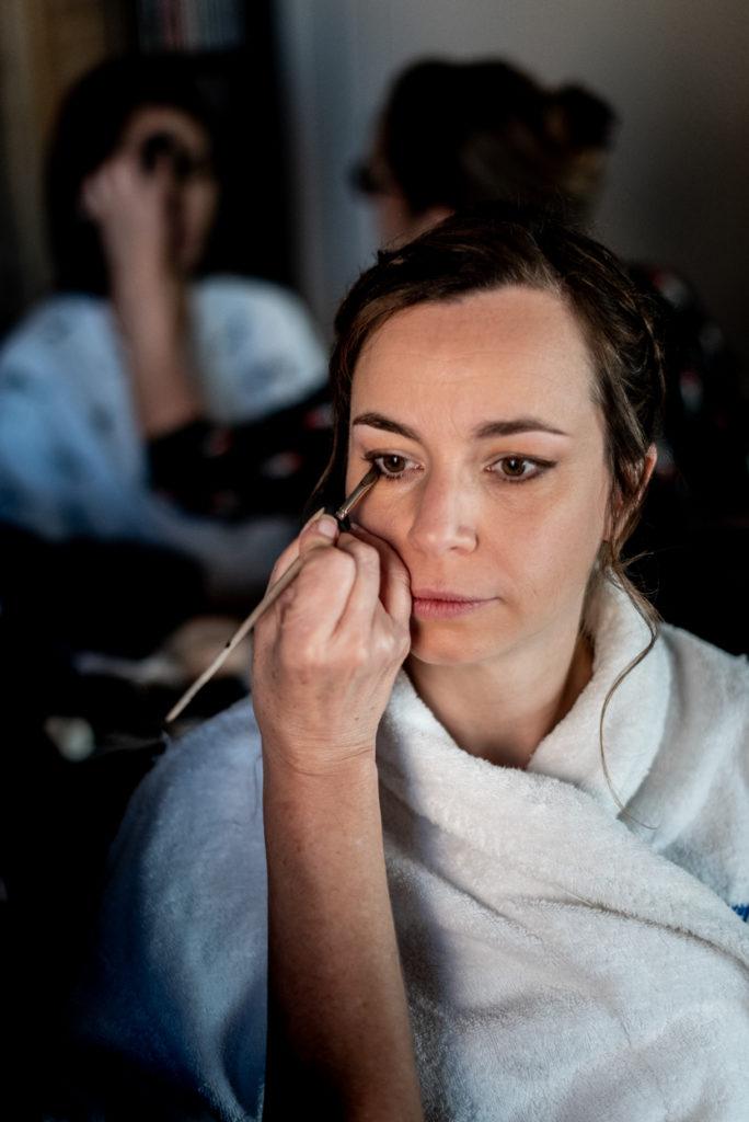 MAquillages - témoins - Préparatifs - Photographe de mariage - La ferme du Grand MArcha - MAirage enghien - Photographe Enghien