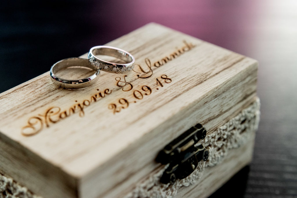 alliances - Préparatifs - Photographe de mariage - La ferme du Grand MArcha - MAirage enghien - Photographe Enghien
