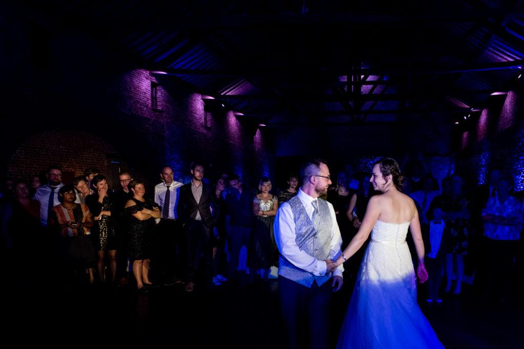 Ouverture de bal -Première danse - Dance floor - Photographe de mariage - La ferme du Grand MArcha - MAirage enghien - Photographe Enghien