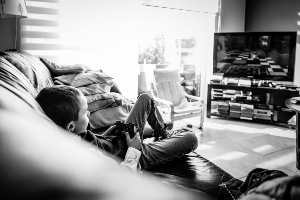 jeux vidéos - Préparatifs - Photographe de mariage - La ferme du Grand MArcha - MAirage enghien - Photographe Enghien