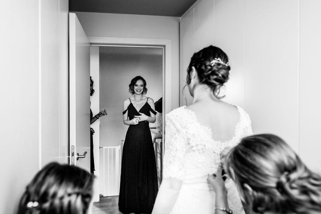 témoins - Préparatifs - Photographe de mariage - La ferme du Grand MArcha - MAirage enghien - Photographe Enghien