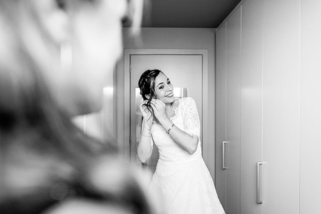 Préparatifs - Photographe de mariage - La ferme du Grand MArcha - MAirage enghien - Photographe Enghien