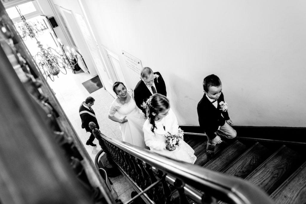 Père - couple - Photographe de mariage - La ferme du Grand MArcha - MAirage enghien - Photographe Enghien
