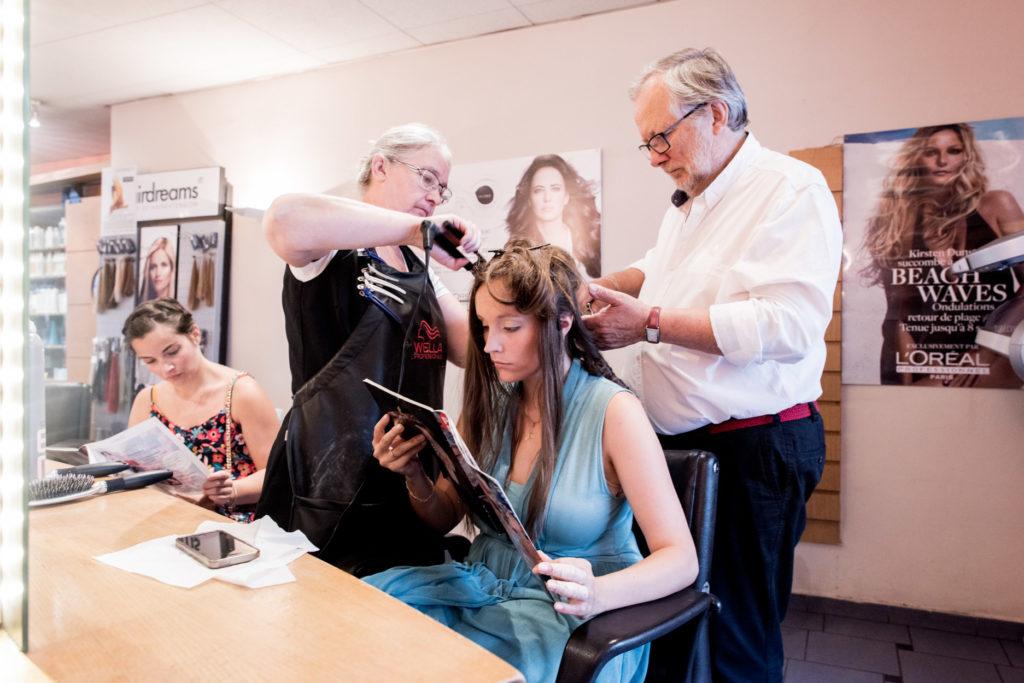 préparatif de la mariée - Tournai