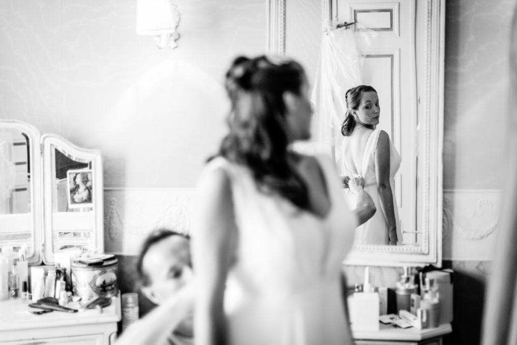 Mariage Tournai habillage
