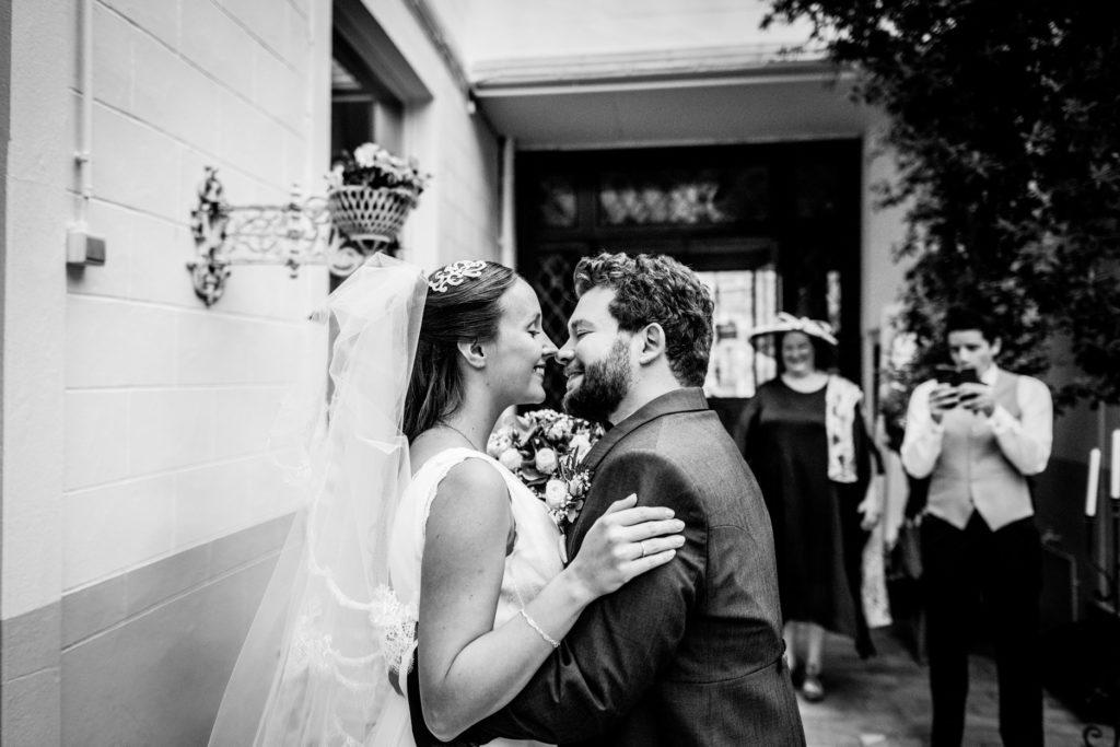Mariage Danses & Cie - baiser