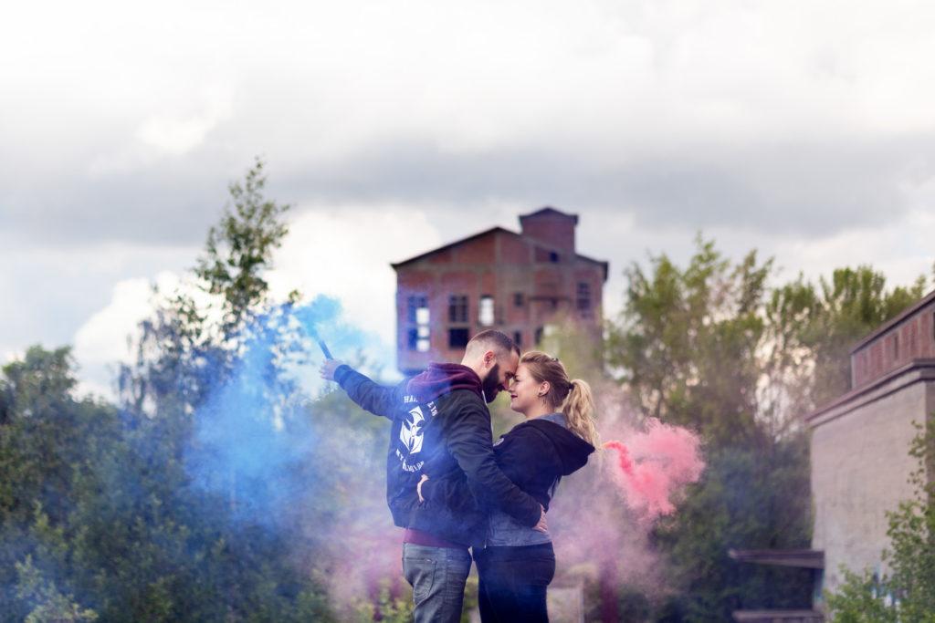 séance couple couleur