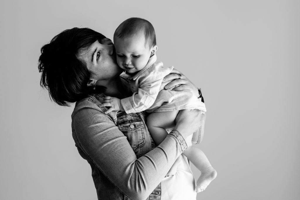 Séance portrait bébé studio